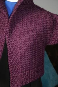 Anais Jacket in Tunisian Crochet